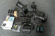Sony PXW-FS7 Camcorder - SHAPE-Arm - Zacuto-Grundplatte -