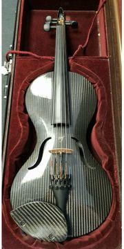 Carbon-Violine Mezzo-Forte Hybrid E-Geige A-Geige