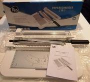 Verkaufe neuen neuwertigen REX Papierschneider