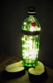 Lampe Flaschenlicht Tanqueray Gin