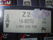 Zündkerzen Beru Z2 14-8DTU
