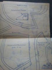 Schnittbogen 40er Jahre