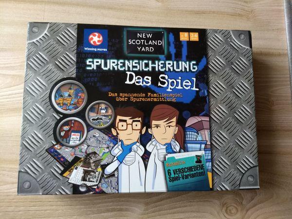 New Scotland Yard - Spurensicherung - Das Spiel