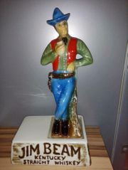 Original Jim Beam Porzellan Cowboy