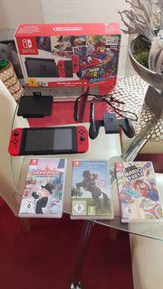 Nintendo Switch OVP und fünf