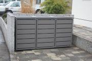 Mülltonnenbox Ecoplus für drei 120