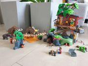 Playmobil Baumhaus Playmobil Steinzeitlager - wie