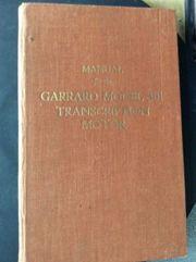 Vintage Garrard Modell 301 Transcription