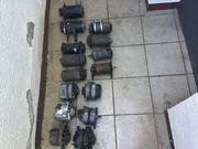 Einige alte Lichtmaschinen