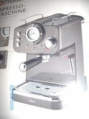 Espresso-Maschine neu Ideal für Camping
