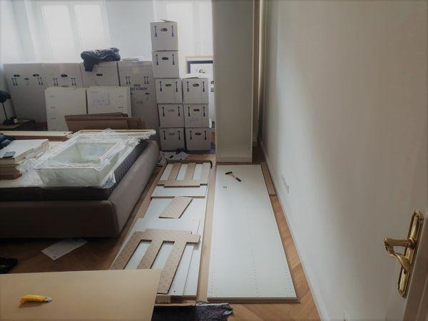 IKEA Einkauf und Montage PAX