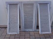 Fensterläden aus Holz Schallläden Klappläden