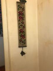 Türanhänger mit Glocke von Messing