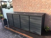 Mülltonnenbox Ecoplus für vier 120