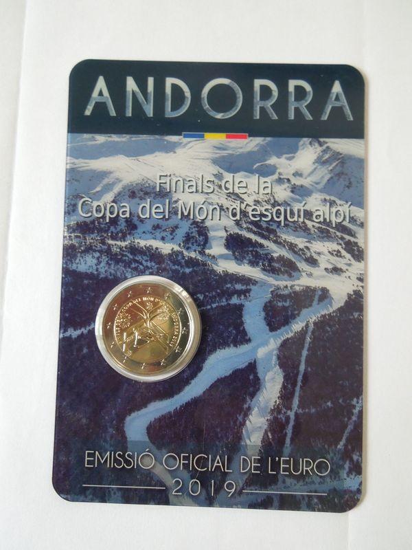 2 Euro Sondermünze Andorra 2019