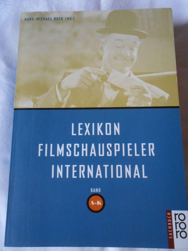 2 x Lexikon Filmschauspieler International
