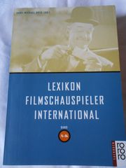2 x Lexikon Filmschauspieler International