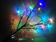 naturgetreuer Leuchtender Baum Garten Deko