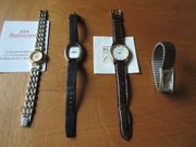 Diverse Modeschmuck Armbanduhren ab 8