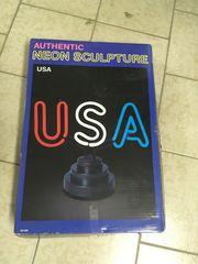 USA Leuchtschrift
