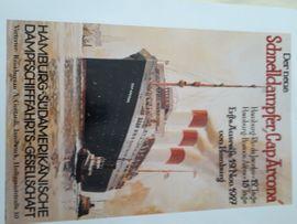 Kunst, Gemälde, Plastik - Gemälde Bild Poster Dampfer Schiffe