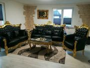 Couchtisch Sofagarnitur Sitzgruppe barock Sofa