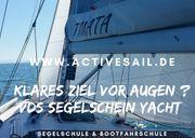 Ausbildungstörn zum Segelschein Yacht VDS