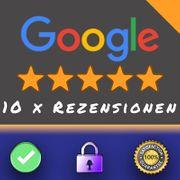 10 echte Google Rezensionen Bewertungen