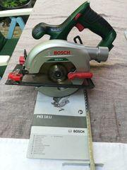 Bosch Akku 18V Kreissäge PKS