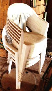 Gartenstühle 8 Stück Ergraut zus 20