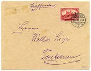 Danzig Großer Innendienst R Brief