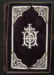 Antiqaurisches Gebetbuch Eberle Kälin 1866