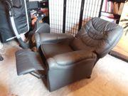 Sitz und liege Sessel