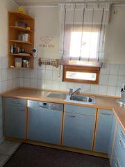 Küche in L-Form inkl Bosch-Elektrogeräte