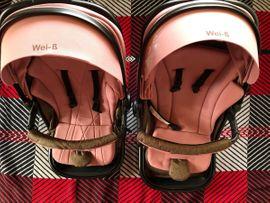 Zwillings Kinderwagen rosa 2 in: Kleinanzeigen aus Weinheim - Rubrik Kinderwagen