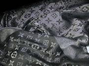Louis Vuitton Schal - Schwarz Silber