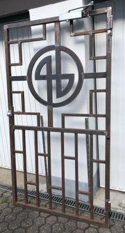 Dekorative Gittertür Einbruchschutz Gitter Sicherheitsschleuse