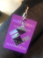 Lukas Rieger Meet Greet Karte