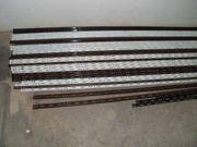 Auflagebretter Wandsystemleisten und Einhängehaken