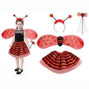 NEU Kinder Marienkäfer Kostüm Set