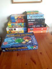 Spiele und Puzzle Konvolut Neuwertig