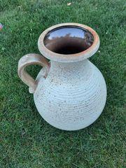 Schwere Keramikvase 40 cm hoch