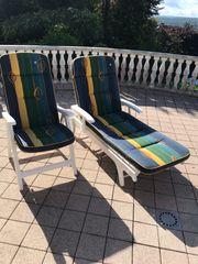 Kettler 5 Stühle mit Auflage