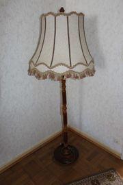 Lampe - Stehlampe - Antik rustikal Landhausstil