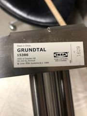 IKEA METALL WANDREGAL