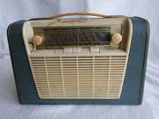 Altes Kofferradio Transistorradio RADIONETTE KURER