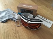 Neuwertige Skibrille mit Luftzirkulation