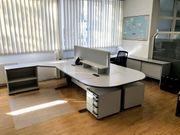 Schreibtischkombination Hali auch einzeln verwendbar
