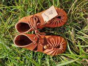 NEU Papoutsi Kinderschuhe hellbraun 22