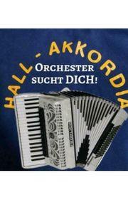 Orchester sucht Musiker Akkordeon Schlagzeug